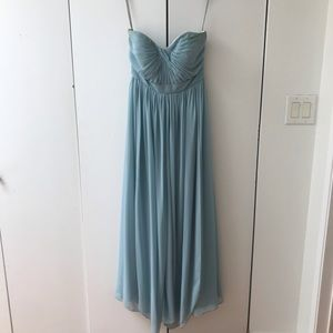 Jenny Yoo Aidan Ciel blue bridesmaid dress